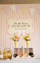 darla roze photography, wedding day ice cream inspiration
