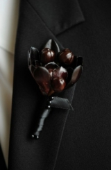 Black Calla Lillies
