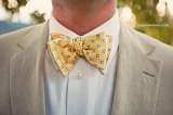 Yellow and blue bow tie, Sarah Rhoads photography