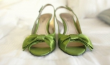 Green Wedding shoes, Verandas Manhattan Beach, California, Verandas Beach House, Sandra Pan photogra