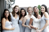 Montauk seaside wedding, Belathee Photography, New York Weddings, blue bridemaids dresses