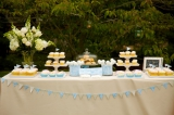 Dan Cutrona Photography, garden party inspiration, blue and pastel inspiration, dessert table ideas,
