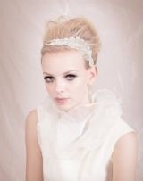 ban.do bando head band head piece bride wedding accessories flower