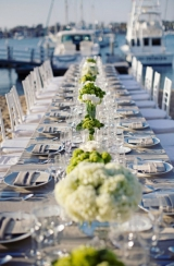 lime green wedding flowers, southern california wedding, newport beach wedding, navy blue wedding, n