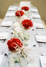 California Christmas, holiday inspiration, winter inspiration, Rustic meets modern,  Vintage table,