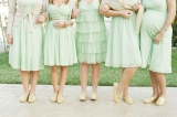 Camarillo Wedding, California Wedding, Vintage garden Wedding inspiration, green bridesmaids wedding