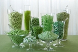 amy atlas, green wedding candy inspiration