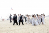 Montauk seaside wedding, Belathee Photography, New York Weddings, beach weddings, blue bridesmaids d