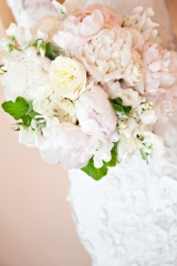 soft pastel peony bride bouquet flowers, Fairmont Sonoma Mission Inn wedding, Sonoma California wedd