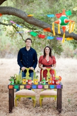 Fiesta inspired engagement shoot