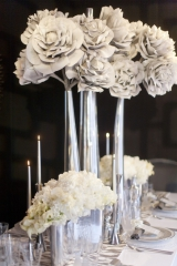Silver wedding ideas, silver wedding inspiration, metallic wedding ideas
