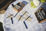 modern guestbook, St. Regis Hotel wedding, Dana Point California, Hugh Forte photography, Five Star