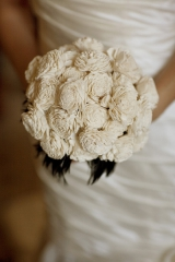 balsa wood wedding flowers
