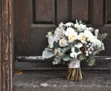 grey wedding details, grey wedding inspiration, grey wedding flowers, winter inspired wedding flower