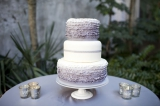 ombre wedding details, colorful wedding details, ruffled wedding cake, grey wedding cake, ombre wedd