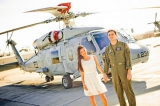 military inspired engagment shoot, San Diego Engagement shoot, Navy inspired engagement shoot,