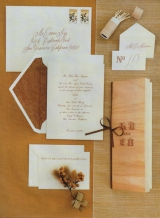 wedding stationary invitations stamps calligraphy