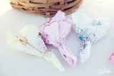 vintage wedding favors, pastel wedding colors