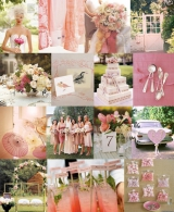 peach blush dusty rose pink inspiration board