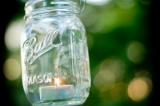 Kelli Cohee photography, mason jar decor, outdoor wedding reception inspiration