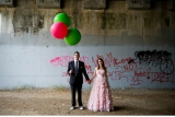 flory photo, balloon inspiration, modern shoot