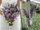 Lavander Wedding Flowers