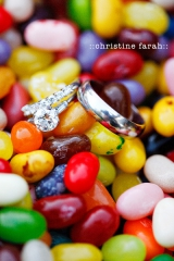 Christine Farah, wedding candy inspiration, jelly bean inspiration