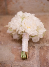 white peonie wedding bouquet, San Ysidro Ranch Wedding, Santa Barbara California, Elizabeth Messina