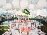outdoor party inspiration, anniversary party inspiration, Malibu party inspiration, vow renewal insp