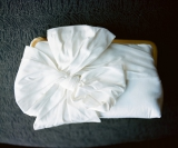 Southern weddings - classic white clutch