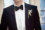 Southern weddings - lily of the valley boutonniere