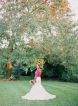 southern wedding - plaid wedding ideas