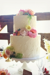 Southern wedding - buttercream wedding cake