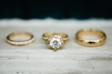Southern wedding - yellow gold wedding rings