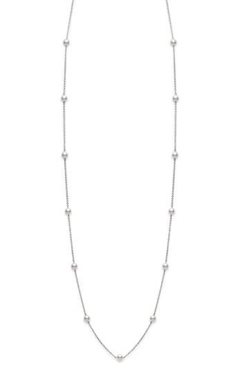 Mikimoto Akoya Cultured Pearl Station Necklace