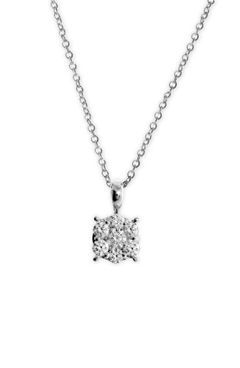 Bony Levy 'Lucky 7' Diamond Pendant Necklace (Nordstrom Exclusive)