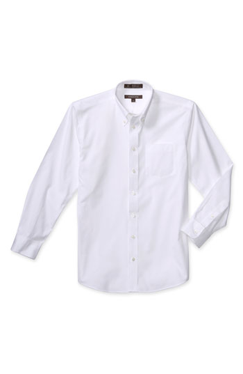 Nordstrom Smartcare Long Sleeve Oxford Shirt Big Boys