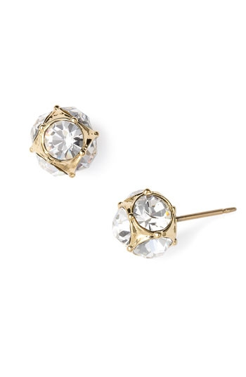 kate spade new york glass stone stud earrings