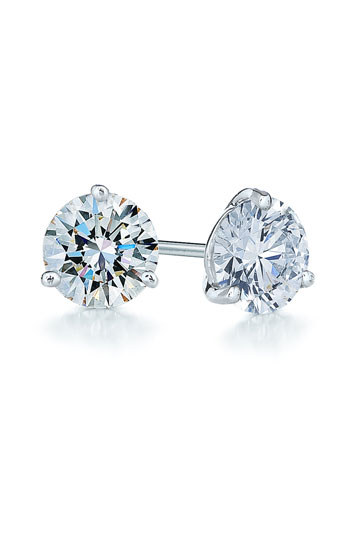 Kwiat 1.50ct tw Diamond & Platinum Stud Earrings