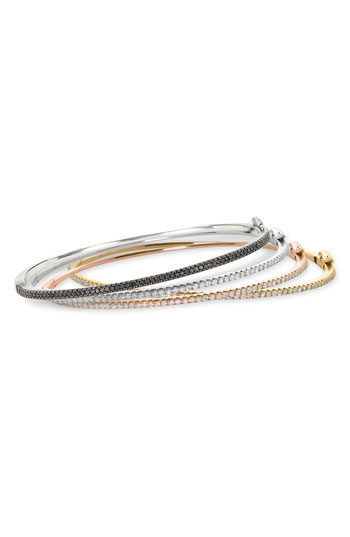 Bony Levy Skinny Diamond Bangle Nordstrom Exclusive