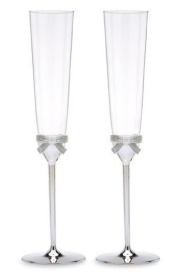 kate spade new york 'grace avenue' toasting flutes set of 2