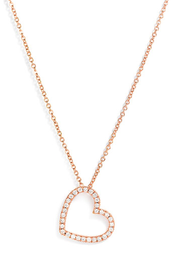 Kwiat Small Silhouette Diamond Necklace