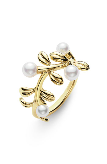 Mikimoto Akoya Cultured Pearl Ring