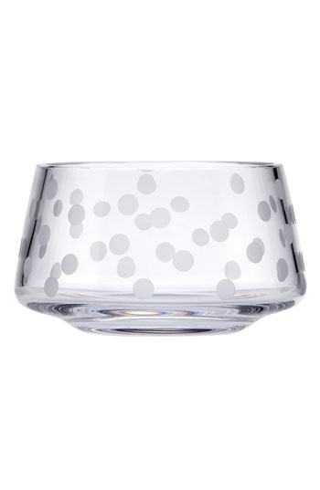 kate spade new york 'chelsea plaza' crystal bowl