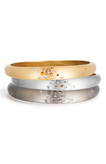 Alexis Bittar 'Dust' Skinny Tapered Bangle Nordstrom Exclusive