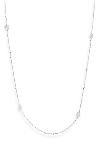 Bony Levy Diamond Station Long Necklace Nordstrom Exclusive