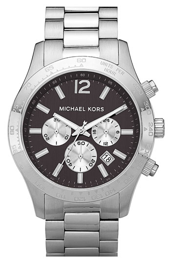 Michael Kors 'Large Layton' Chronograph Watch