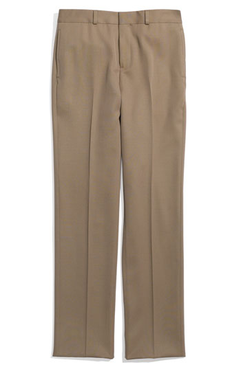 Brooks Brothers Flat Front Wool Trousers Big Boys