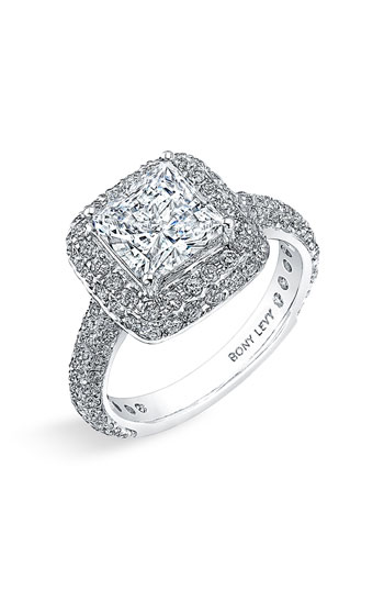 Bony Levy 'Bridal' Pave Diamond Semi Mount Ring Nordstrom Exclusive