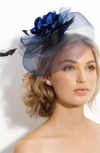 Cara Accessories 'Royal' Fascinator Hair Clip